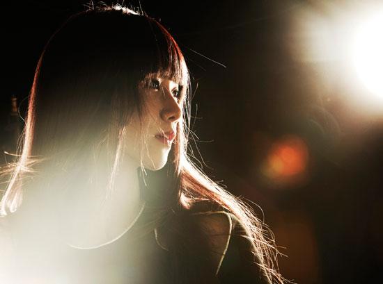 Girls Generation Yoona black soshi photo