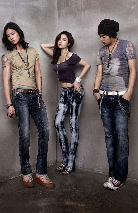 Shin Se-kyung B2ST Doojoon Buckaroo Jeans