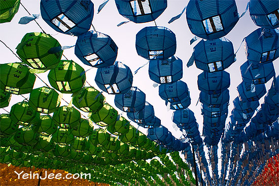 Lanterns at Bongeunsa Temple, Seoul
