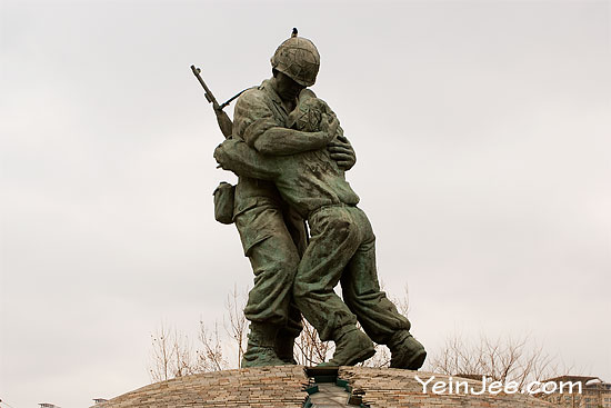 Statue of Brothers, War Memorial of Korea, Seoul