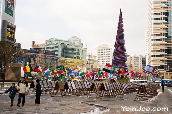 Cheonggyecheon Plaza, Seoul, South Korea