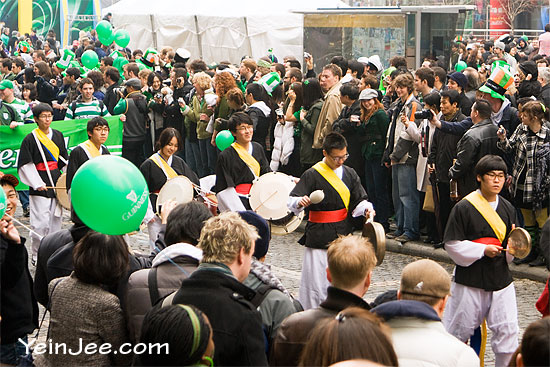 Saint Patrick Day parade in Seoul