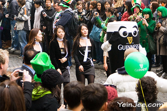 Saint Patrick Day festival in Seoul