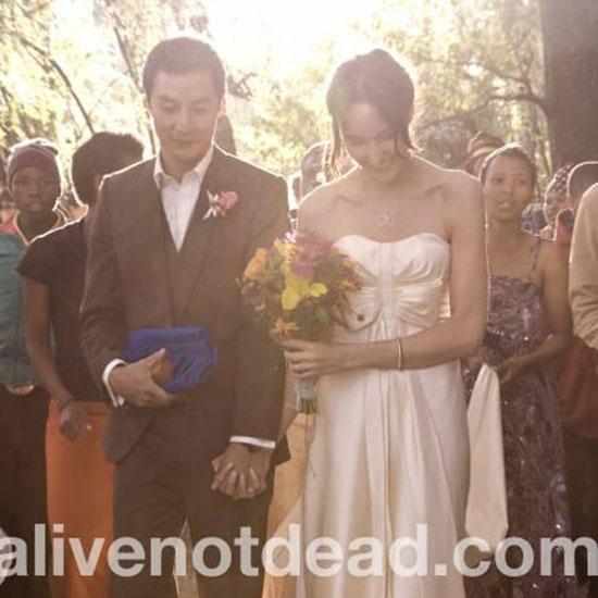Daniel Wu and Lisa Selesner wedding photos