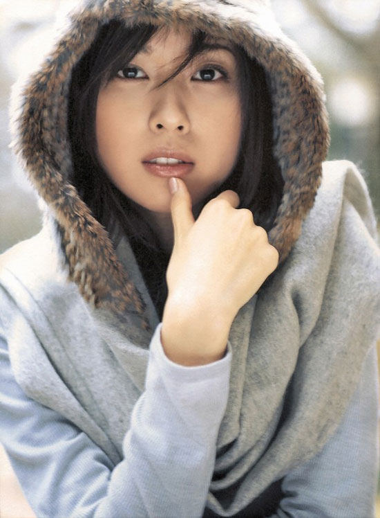 Erika Toda on Cinema Girls magazine