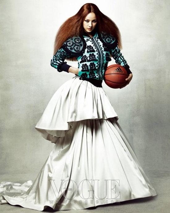 Lee Hyori Adidas Vogue Magazine