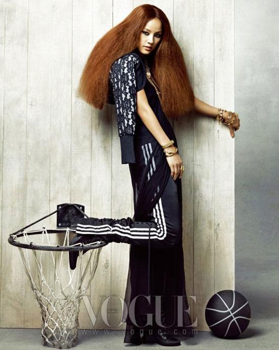 Lee Hyori Korean Vogue Magazine