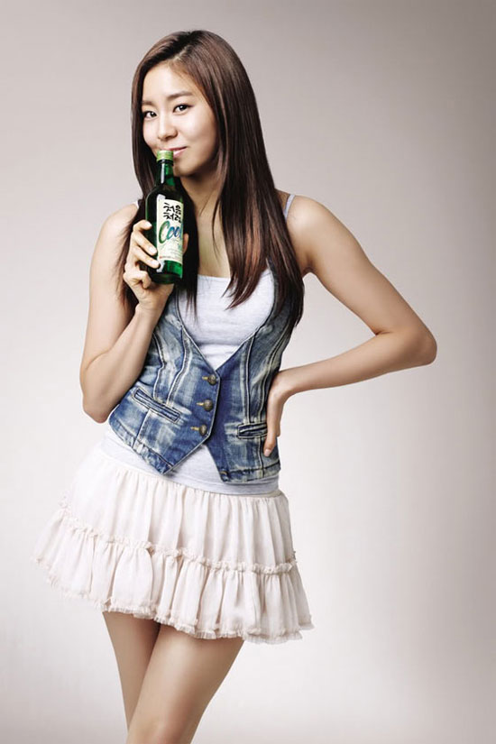 After School Uee for Korean Chum Churum Cool soju