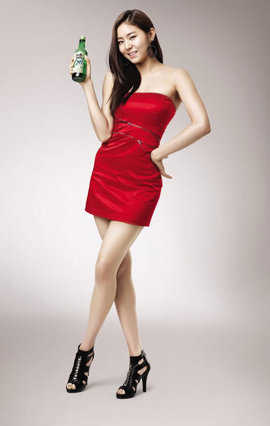After School Uee for Chum Churum soju