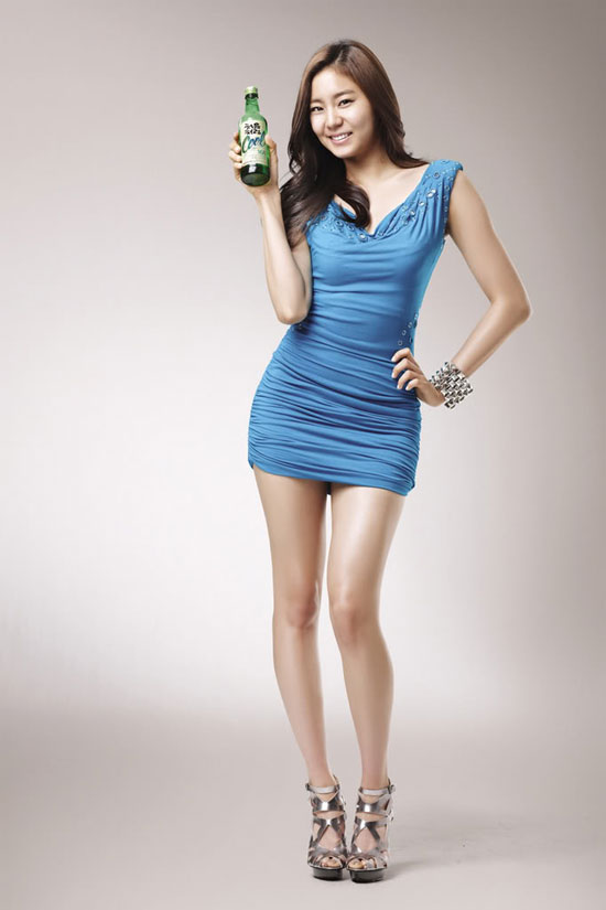After School Uee for Cool soju