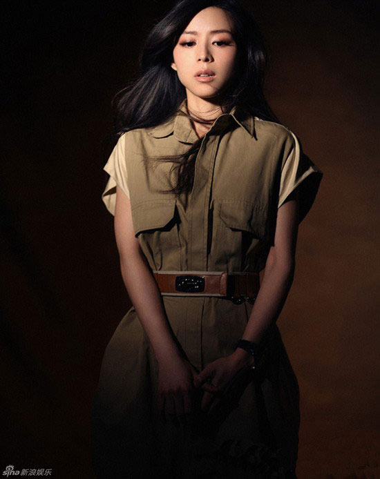 Zhang Jingchu Figaro Magazine