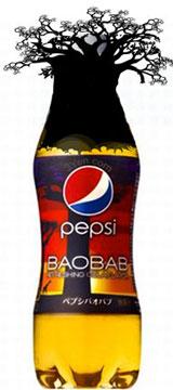 Japan Baobab tree flavour Pepsi