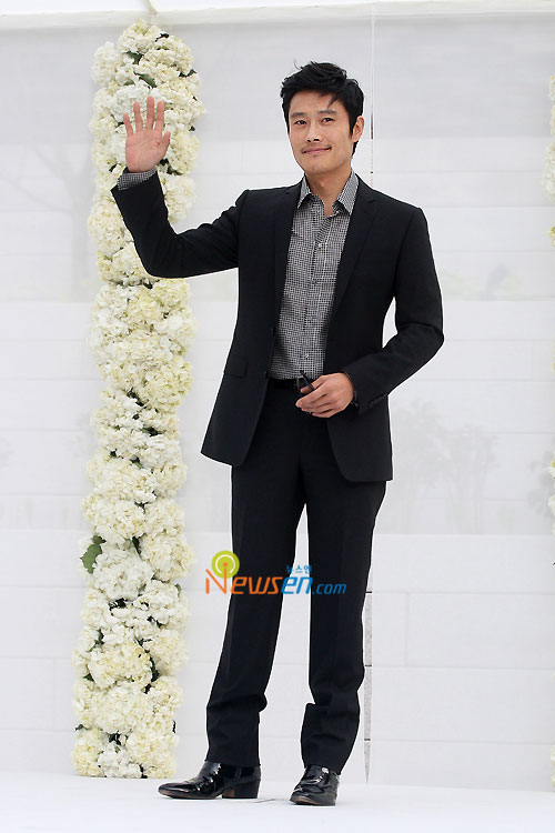 Lee Byung-hun at Jang Dong-gun wedding