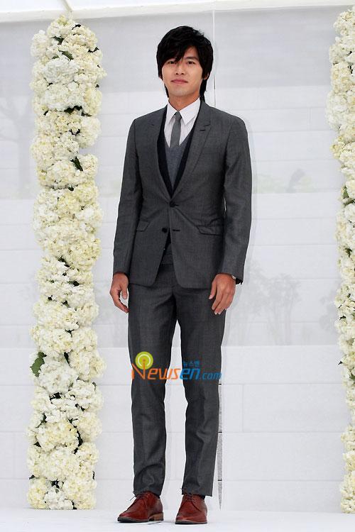 Hyun Bin at Jang Dong-gun wedding