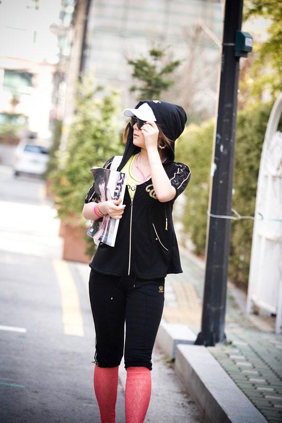 Wonder Girls Haerim EXR Wonder Style 2