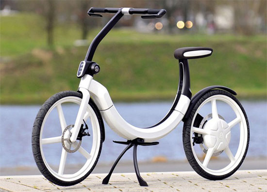 Volkswagen foldable electric bicycle