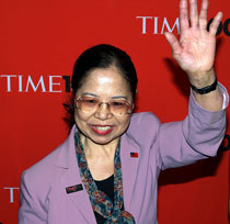 Taiwanese philanthropist Chen Shu-Chu