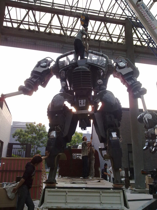 Making of Chinese Guan Yu Transformers