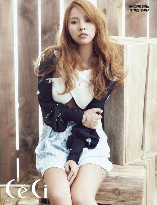 Lee Hyori on Korean Ceci magazine