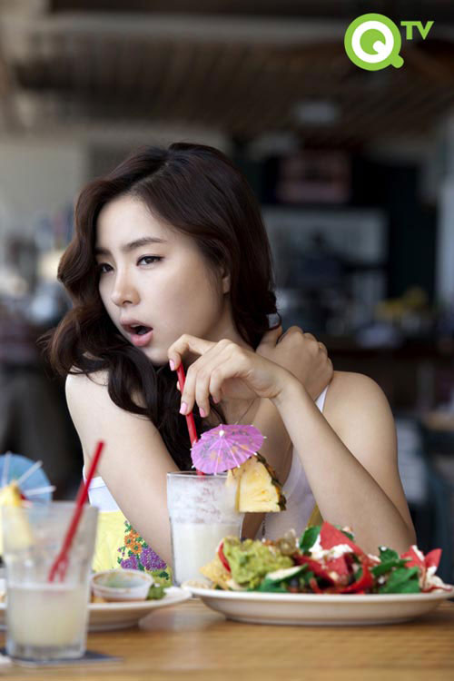 Korean actress Shin Se-kyung in Hawaii