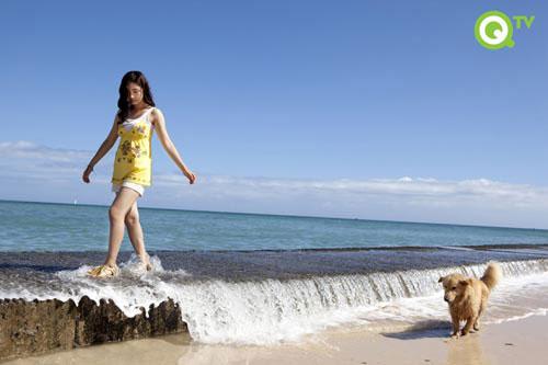 Shin Se-kyung in Hawaii