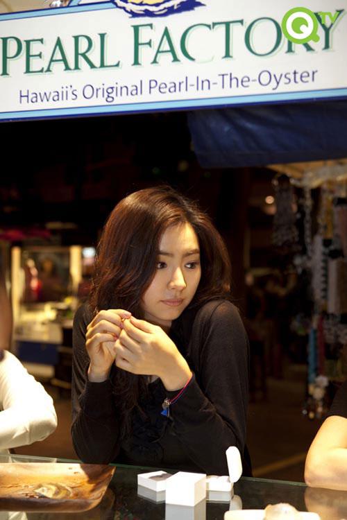 Korean actress Shin Se-kyung