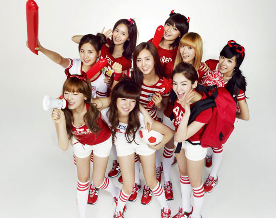 SNSD Red It with SPAO