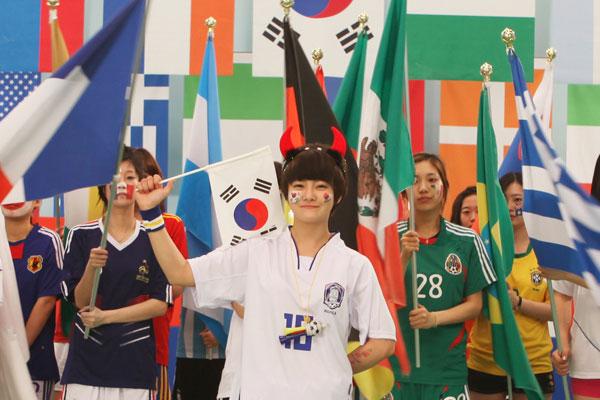 T-ara Boram World Cup