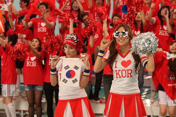 T-ara World Cup Girl