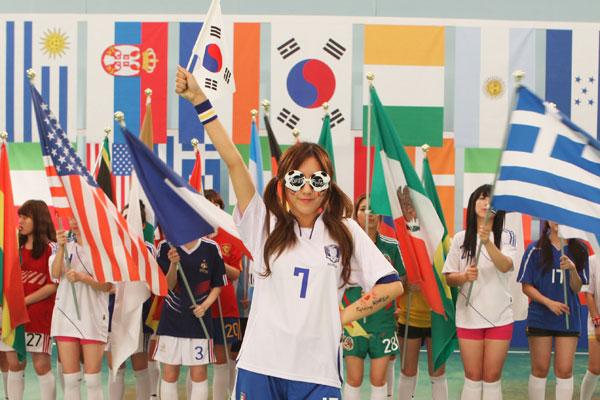 T-ara Hyomin World Cup