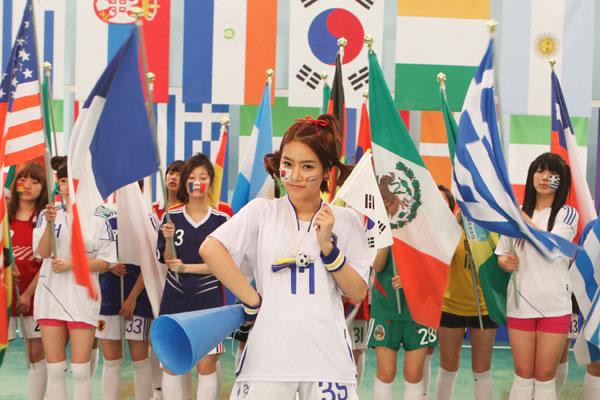 T-ara Soyeon World Cup