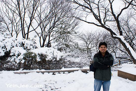YeinJee at Namsan Park, Seoul