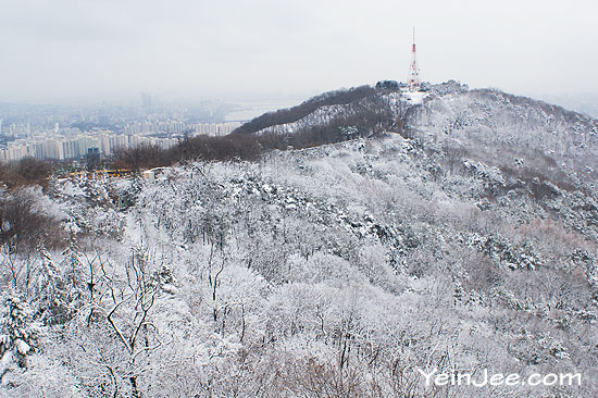 Namsan Mountain, Seoul, South Korea