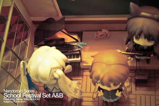 K-On Nendoroid set