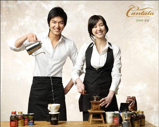 Korean actor Lee Min-ho for Cantata Coffee