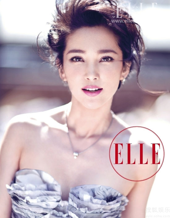 Li Bingbing on Elle China magazine