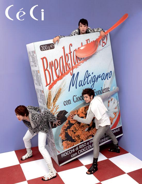 MBLAQ on Korean Ceci magazine