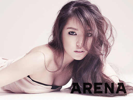 Korean actress Min Hyo-rin on Arena magazine