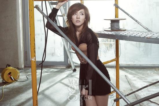 2ne1 Dara on Vogue Girl magazine