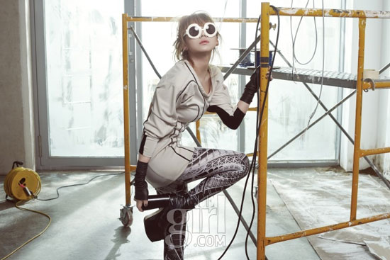 2ne1 CL on Vogue Girl magazine