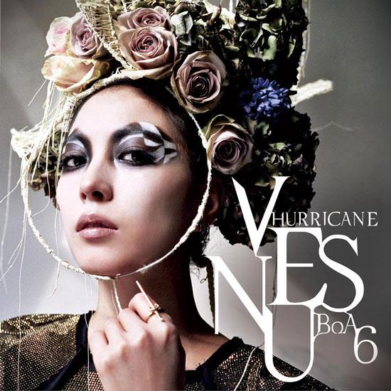 Korean singer BoA Hurricane Venus album photo