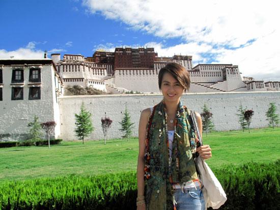 Gigi Leung in Tibet, China