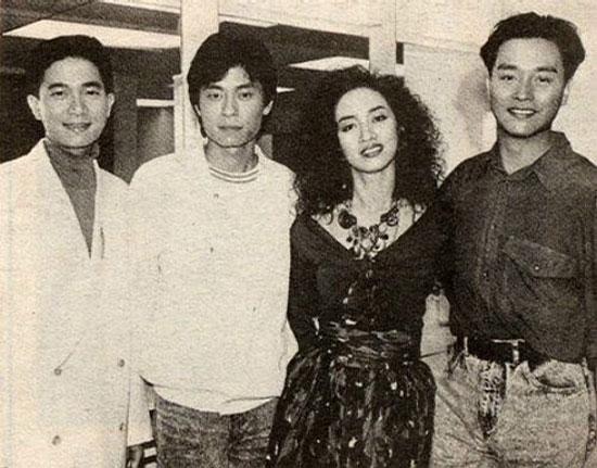 Danny Chan, Dave Wong, Anita Mui and Leslie Cheung