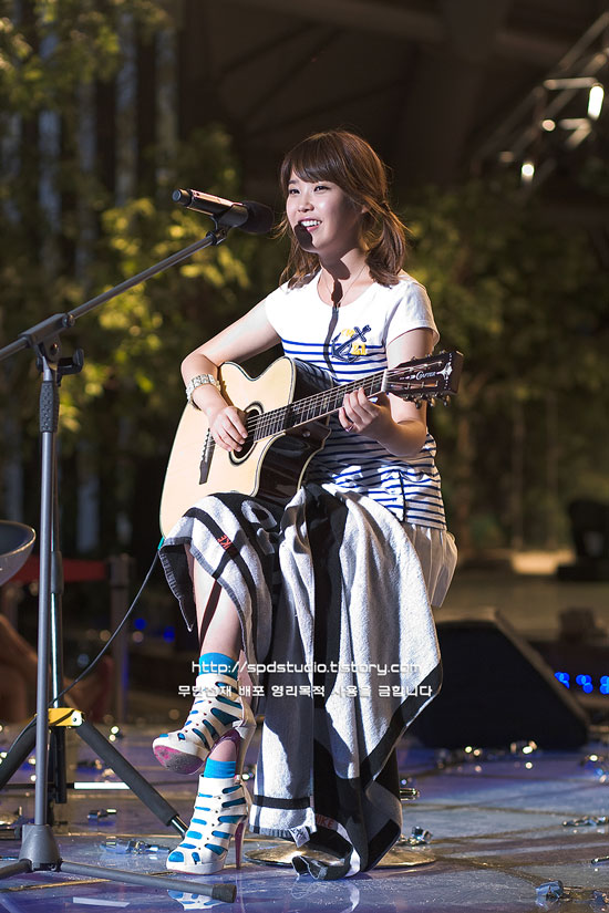 IU at FM4U Summer Music Festival in Seoul Hanyang University