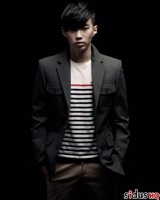 Jay Park on Sidus HQ magazine
