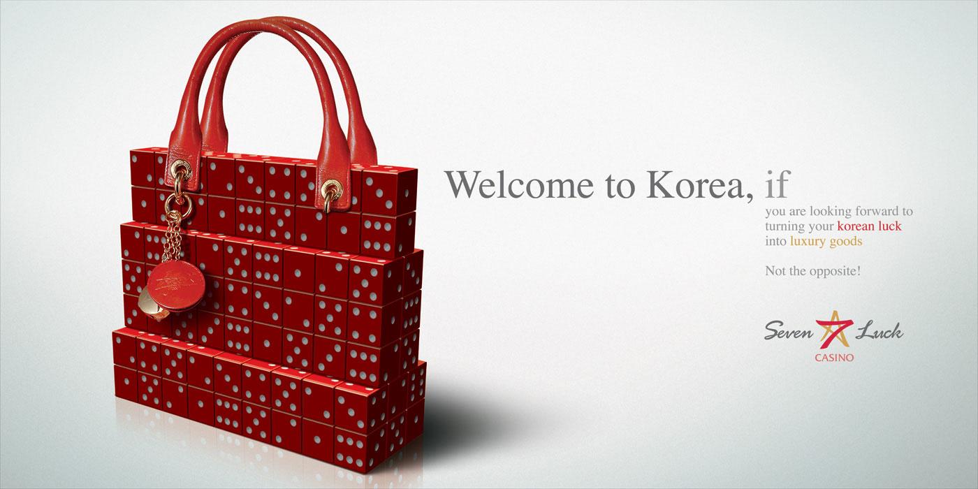 Seven Luck Casino Korean advertisement