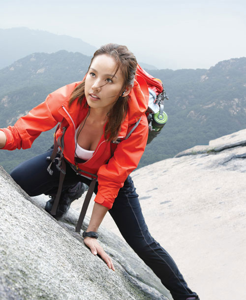 Lee Hyori FILA Sports outdoor clothing