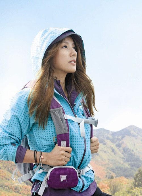 Lee Hyori FILA Sports