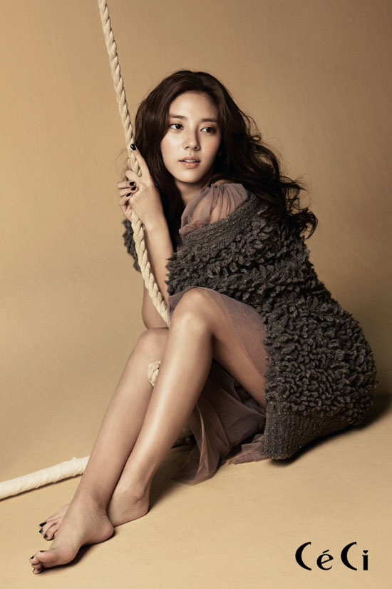 Korean singer Son Dambi Ceci