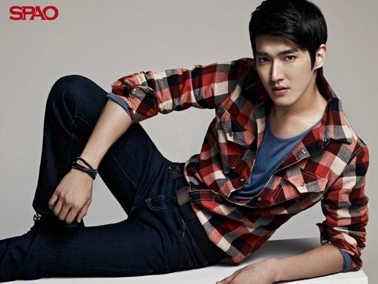 Super Junior Siwon SPAO wallpaper